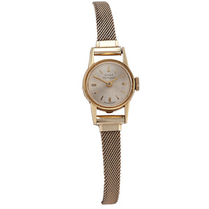 Ladies Vintage Girard Perregaux 18 Karat Gold Watch