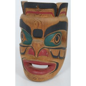 Bill Henderson Carved Komokwa Mask