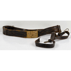 U.S. Civil War GAR Belt and Buckle
