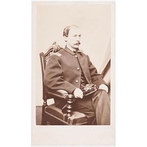 Lieut. Daniel Henry Chamberlain, 5th Massachusetts Cavalry, & South Carolina Governor, Autographed CDV