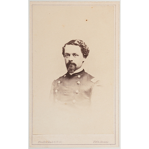 Col. Frederick F. Wead, 98th New York Volunteers, KIA Cold Harbor, Civil War CDV