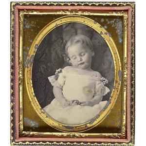 Fine Post Mortem Daguerreotype,
