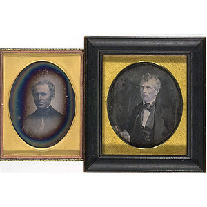 Fine Quarter Plate Daguerreotypes by Root and Plumbe,