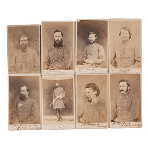 A Fort Delaware CDV Album of Morgan's Men
