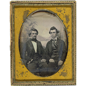 Half Plate Philadelphia-Style Daguerreotype,