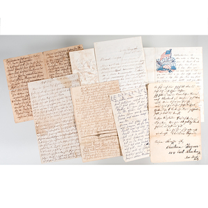 Civil War-Period Letters, Including Several from Soldiers