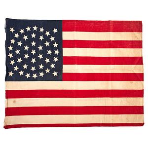 44-Star Printed American Flag