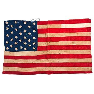 32-Star American National Flag