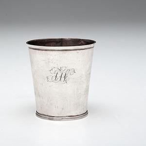 Coin Silver Beaker by Hugh Wishart