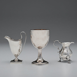 An Assortment of English Sterling by the Bateman Family of Silversmiths