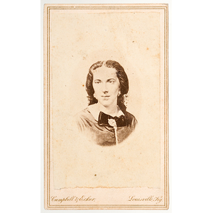 Civil War CDV of Confederate Spy Belle Boyd