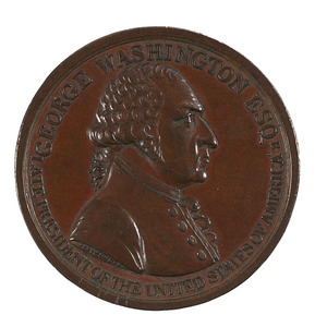 George Washington 1799 Eulogistic Medal by Westwood