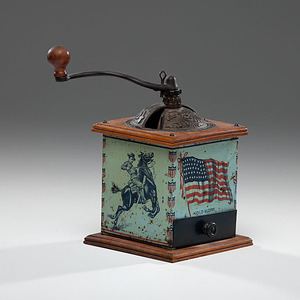 Theodore Roosevelt Old Glory Coffee Grinder