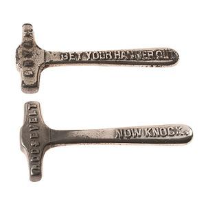 McKinley / Roosevelt & Bryan / Stevenson Miniature Cast Iron Hammers
