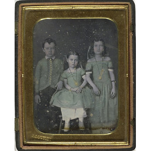 Exquisite Quarter Plate Daguerreotype by Outley,