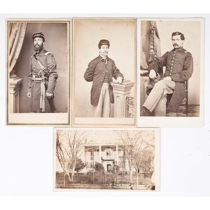 Civil War-era CDV Album Including Union Soldiers