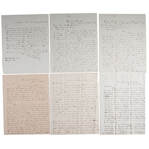 Colonel H.G. Berry, Civil War Letters to Vice President Hannibal Hamlin