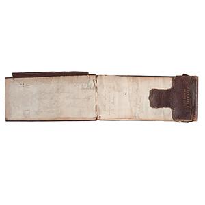 Charles Hamlin, 1st Maine Artillery, Notebook, Plus