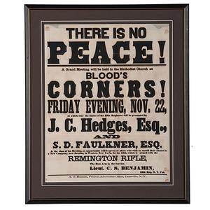 Civil War Recruiting Broadside, 13th New York Regiment