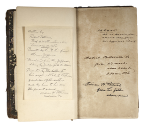 Well Documented Book From Thomas Jefferson Library, With Annotation in His Hand