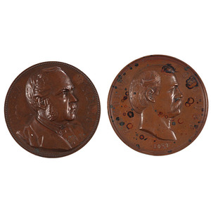 A. Loudon Snowden and William Windom Mint and Treasury Medals