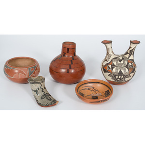 Collection of Southwestern Pottery