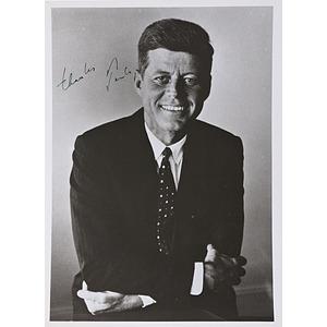 John F. Kennedy Signed Photograph, Plus