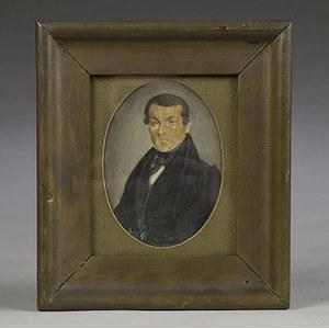 Miniature Portrait of a Gentleman,