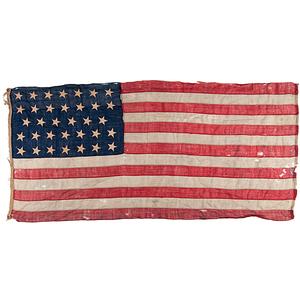 34-Star American National Flag