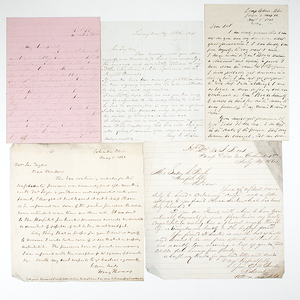 Civil War-Era Letters, Including Letters Written from Camp Chase