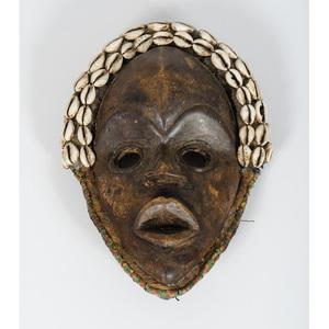 African Liberia Dan Ancestor Mask