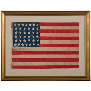36-Star Gates American Parade Flag