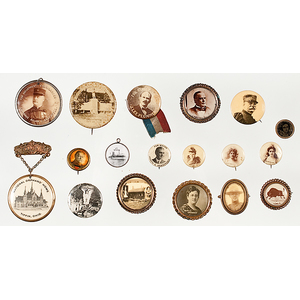 Pins and Buttons Featuring Notable Personalities