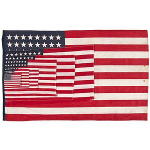48-Star American Parade Flag Samples