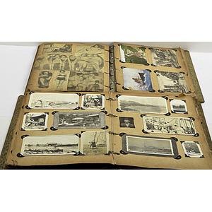 World War I-Era Group of Scrapbooks & Albums