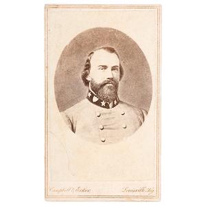 General John Hunt Morgan CDV