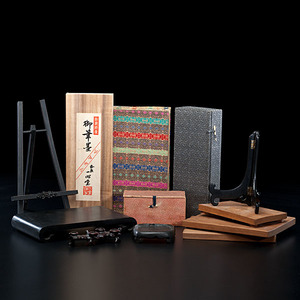 Collection of Boxes and Stands from the Eli Lilly Home