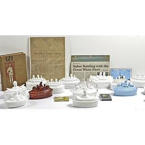 Span-Am Historic Dewey & USS Maine Items