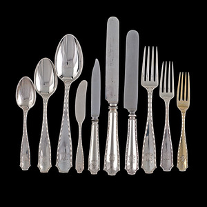 Tiffany & Co. Sterling Marquise Flatware