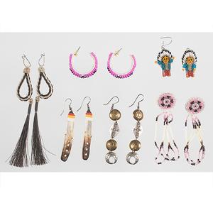 Plains Indian Earrings
