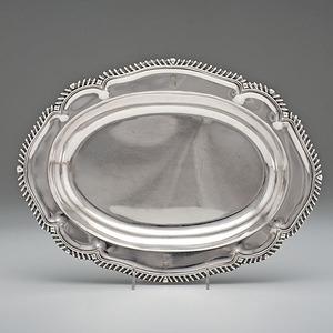 T. & J. Creswick  Sheffield Plate Dish