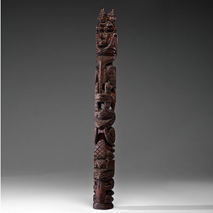 Ray Williams Nuu-Chah-Nulth Carved Totem Pole