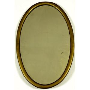 Oval Gilt  Mirror,