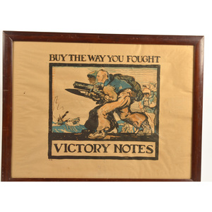 World War I-Period Poster, Buy the Way You Fought, Victory Notes