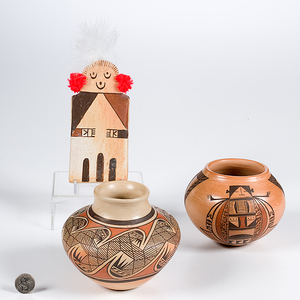 Collection of Hopi Pottery