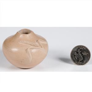 Iris Nampeyo Hopi Miniature Seed Jar