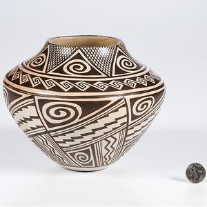 Helen Naha, Featherwoman, Hopi Jar