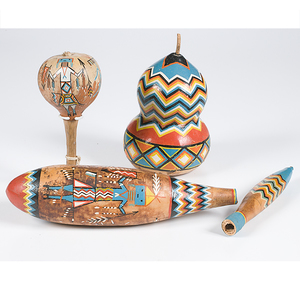 Painted Gourds from the Shiprock Trading Post