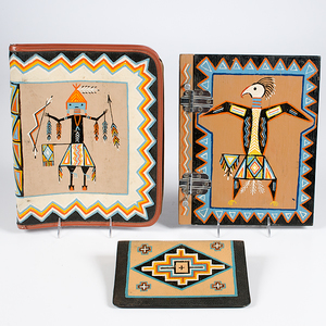 Painted Notebooks from the Shiprock Trading Post