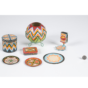 Painted Items from the Shiprock Trading Post